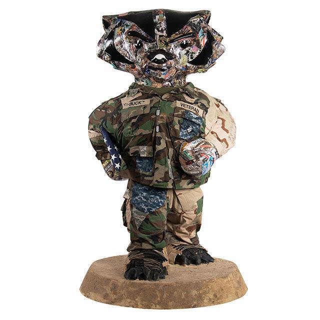 Bucky on Parade Figure - Full Fatigues